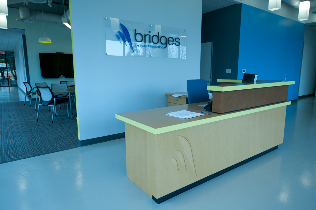 Bridges SI Reception Area
